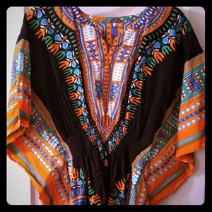 Tops - African tunic top
